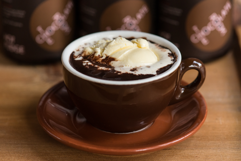 Как сделать горячий шоколад в домашних фото 2