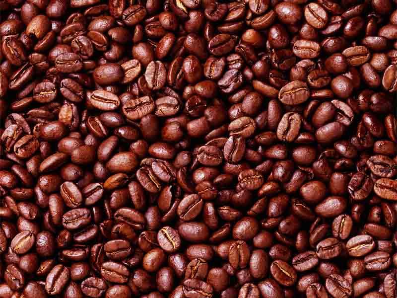 зерна кофе фото